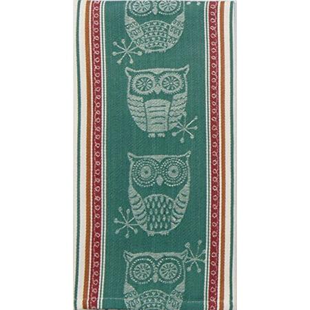 Kayo Designs - Kay Dee Designs R3448 Spice Road Owl Jacquard Tea Towel