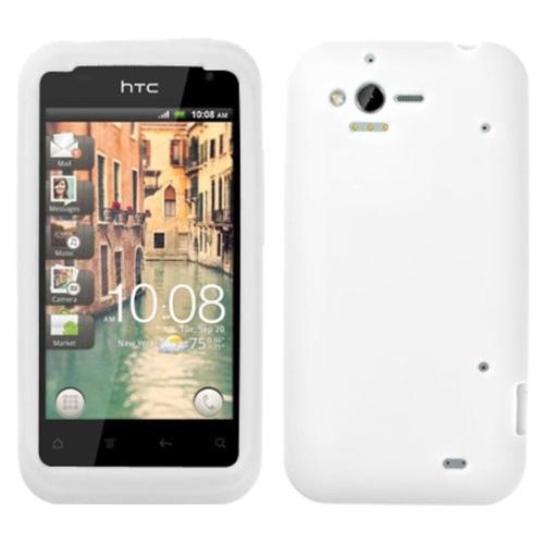 INSTEN Solid Skin Case (White) for HTC: ADR6330 (Rhyme)