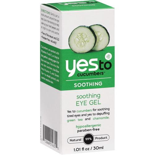 Yes To Cucumbers Soothing Eye Gel, 1.01 oz
