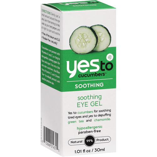 Yes To Cucumbers Soothing Eye Gel, 1.01 oz
