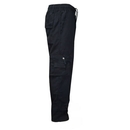 - Urkutoba Men's Elasticated Waist Cargo Combat Trousers Pants.Up to size 3XL