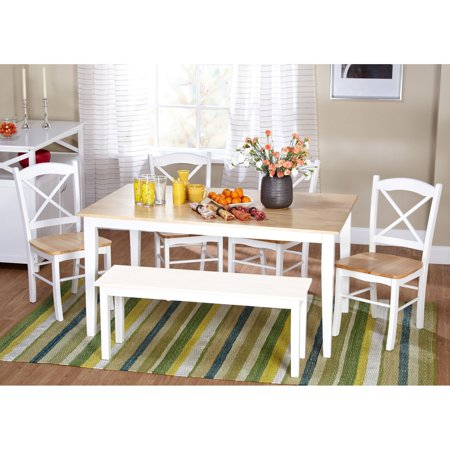 Target Marketing Systems Tiffany 6 Piece Dining Table Set
