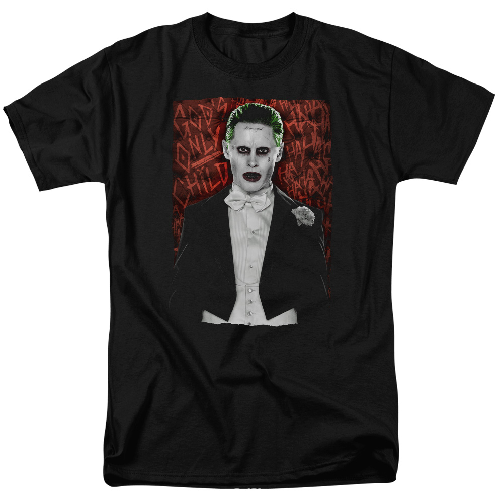 Suicide Squad Dressed To Kill Mens Short Sleeve Shirt