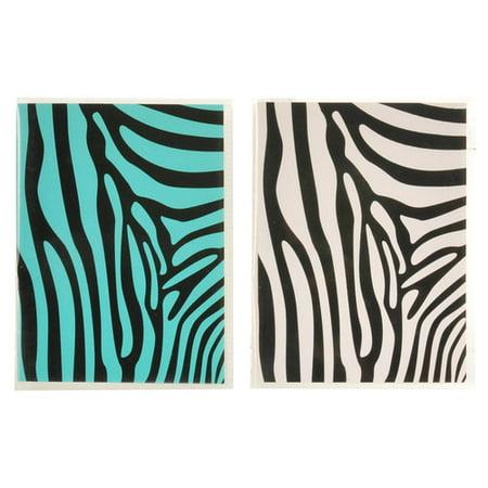 Pinnacle Frames And Accents Zebra Soft Brag Photo Album