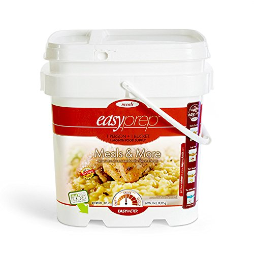 EasyPrep Meals & More 1-Month Emergency Food Supply (227 ...