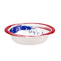 Nicole Home Collection 12oz Stars N' Stripes Paper Bowl, 35 Ct