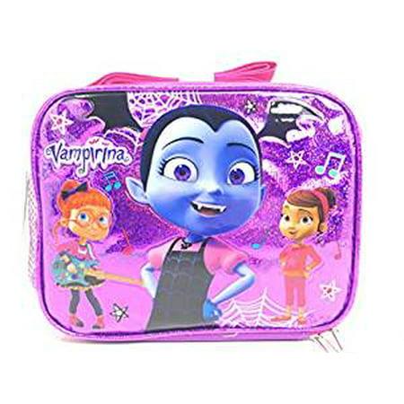 Lunch Bag - Disney - Vampirina - Purple Shiny w/Friends