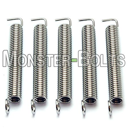 Set of 5 - Premium Guitar Tremolo Springs For Floyd Rose & Fender Stratocaster - (Strings Floyd Rose)
