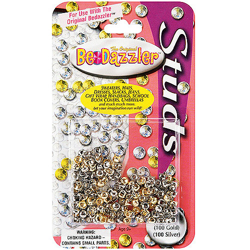 Be Dazzler Gold & Silver Stud Refill 200/Pkg