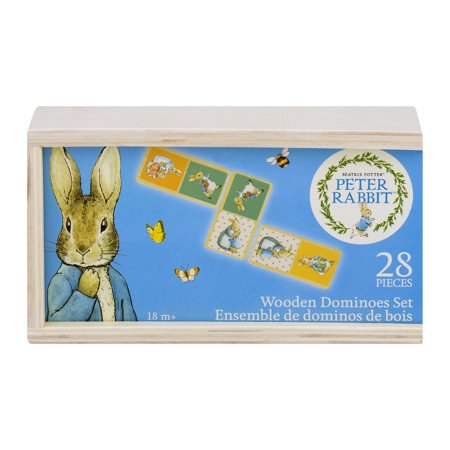 Peter Rabbit Beatrix Potter Wooden Dominoes Set 18m+ - 28 PC, 28.0 PIECE(S) - Wooden Dominoes