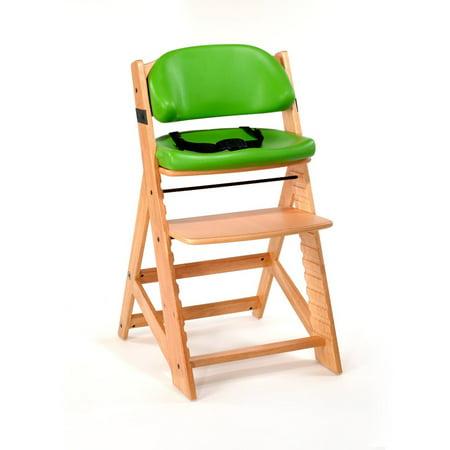 Keekaroo Height Right Kids Chair w/ Comfort Cushion Set- Natural -