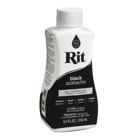 Rit Dye Liquid 8oz-Black