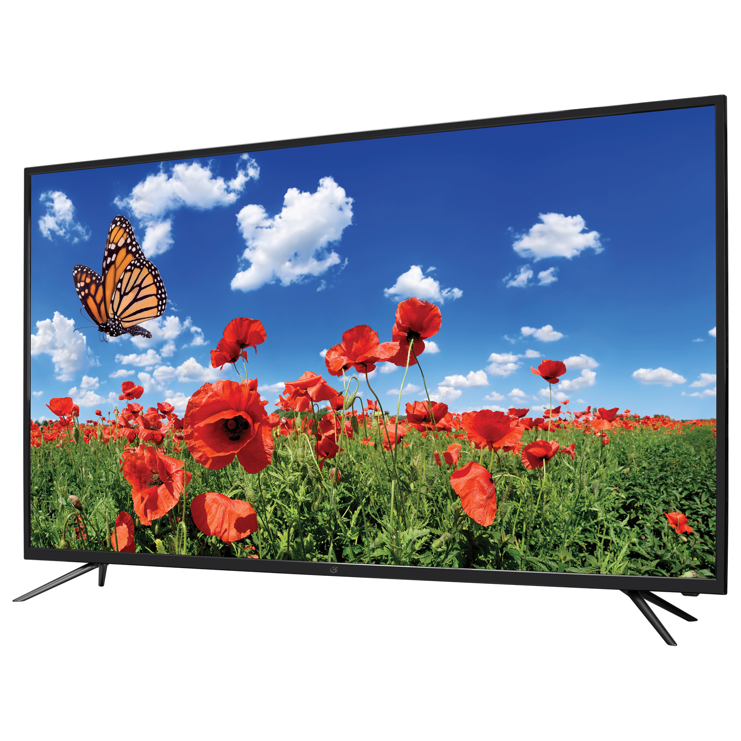 "GPX 55"" 4K Ultra HD DLED TV with Built-In DVD Player and HDMI Cable by GPX"