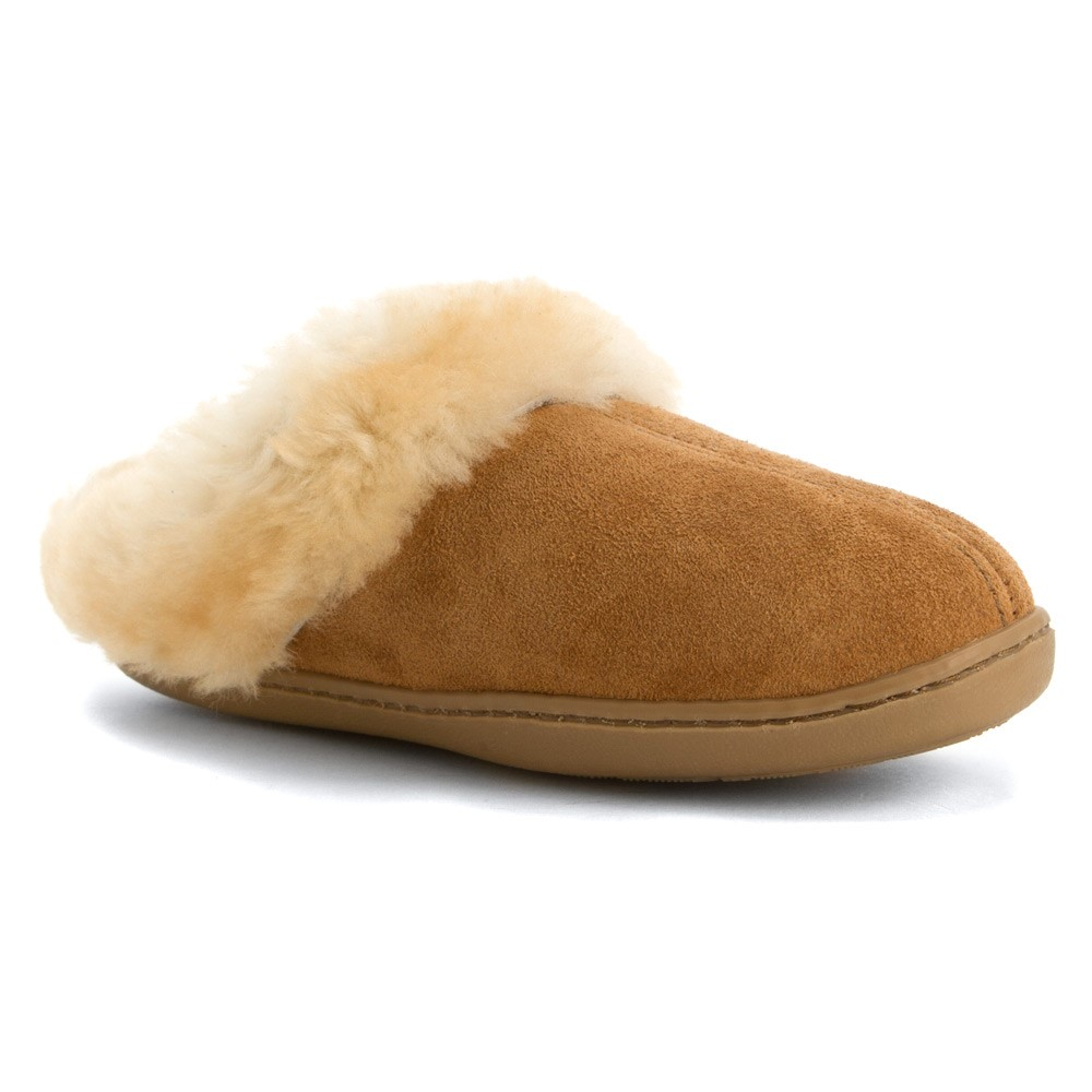 Minnetonka Women's Sheepskin Mule Slippers by Minnetonka