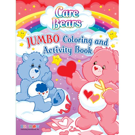 ddi care bears jumbo coloring activity book pack of - Coloring And Activity Books