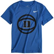 Duke Blue Devils Nike Youth Basketball and Logo Performance T-Shirt - Royal