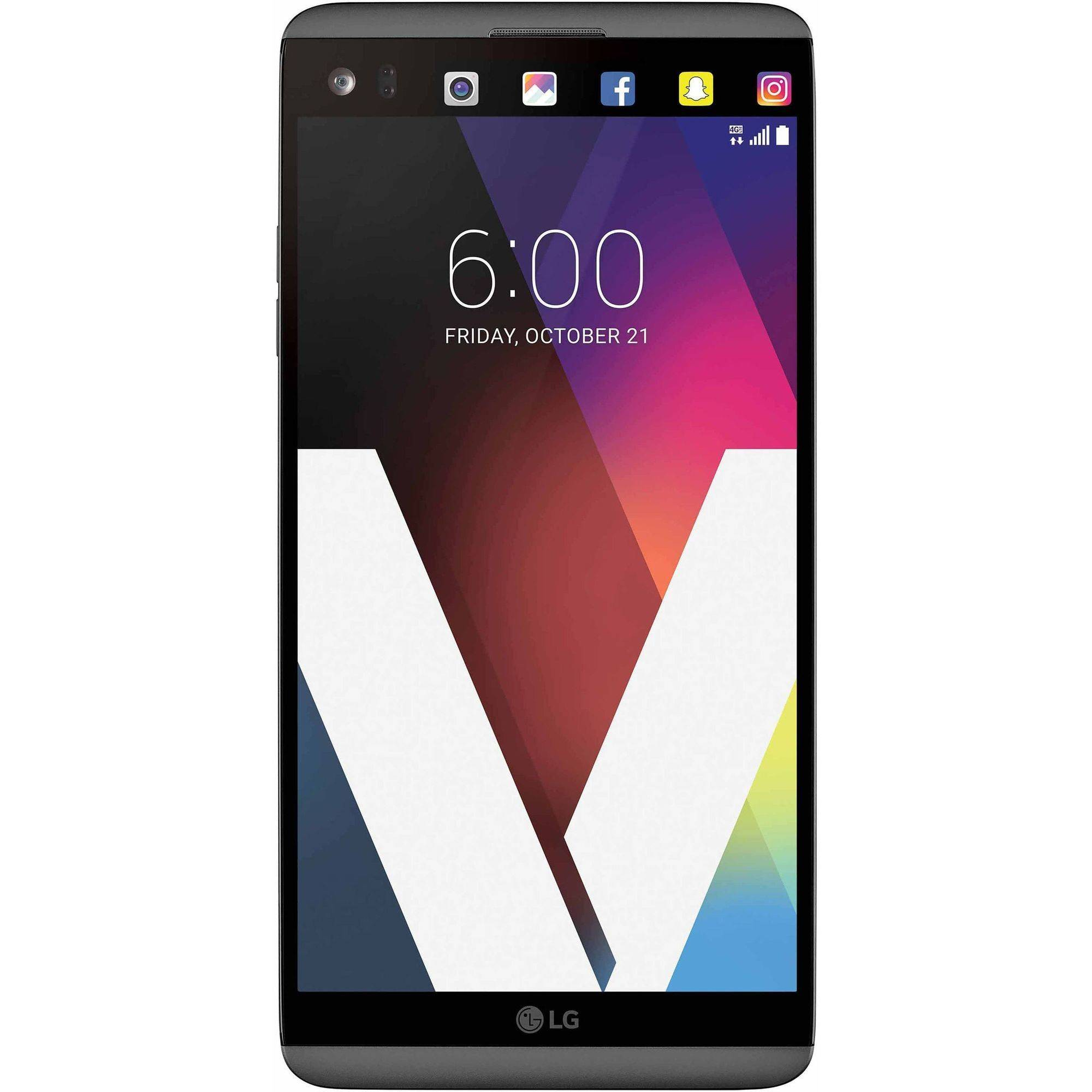LG V20 64GB GSM 4G LTE Quad-Core Smartphone with Dual Rear Camera (Unlocked)