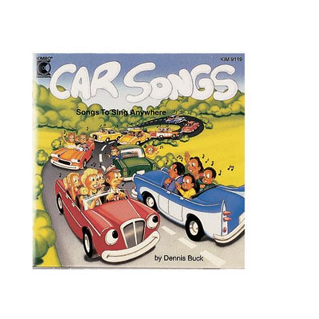 Kimbo Educational KIM9119CD Car Songs CD by Kimbo Educational