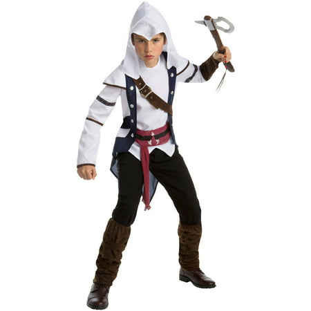 Assassin's Creed: Connor Classic Teen Halloween Costume, XL - Kids Assassin Creed Costume