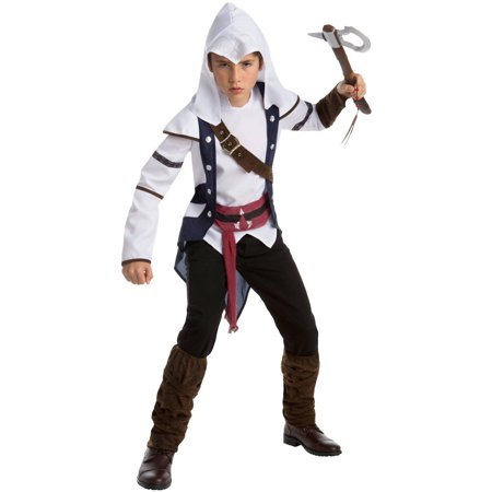 Assassin's Creed: Connor Classic Teen Halloween Costume, - Couple Costumes For Teens