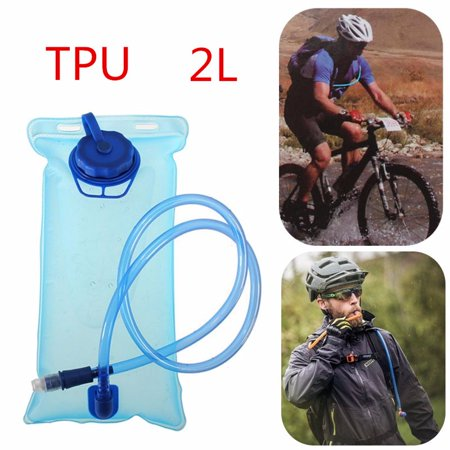 2L Bladder Water Backpack Hydration Bike Pack Hiking Climbing Survival Sport