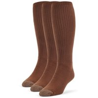 Men's Cotton Extra Soft Over the Calf Cushion Socks - 3 Pairs
