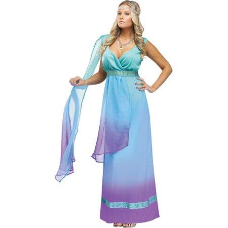 Sea Queen Adult Halloween Costume](Ariel Adult Costumes)
