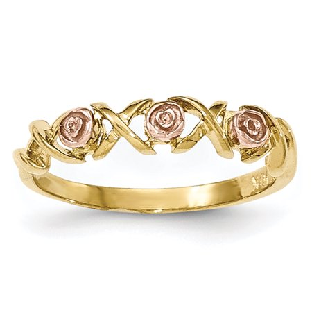 roy rose jewelry 10k tri color gold black hills gold rose. Black Bedroom Furniture Sets. Home Design Ideas