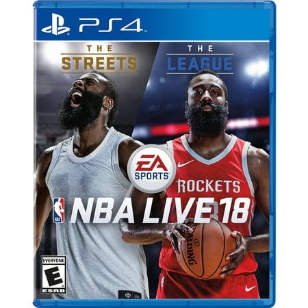 Nba Live 18  Electronic Arts  Playstation 4  014633733839