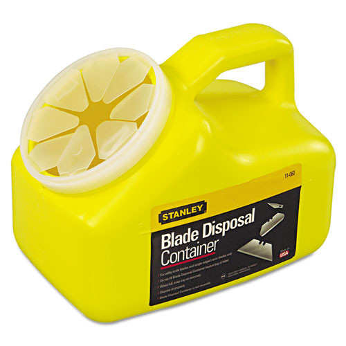 STANLEY BOSTITCH Blade Disposal 0.5 Gallon Trash Can