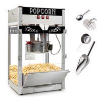 Olde Midway Commercial Popcorn Machine Maker Popper with Large 12-Ounce Kettle