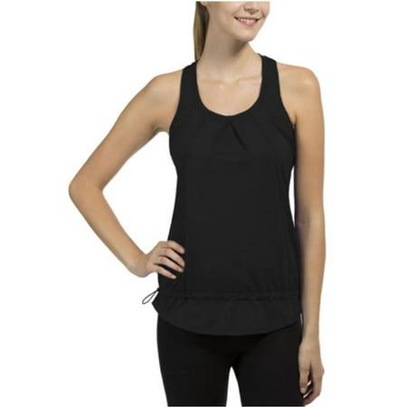 32 Degrees Weatherproof  Ladies  Active Yoga Tank  Moisture Wicking  Black  Small