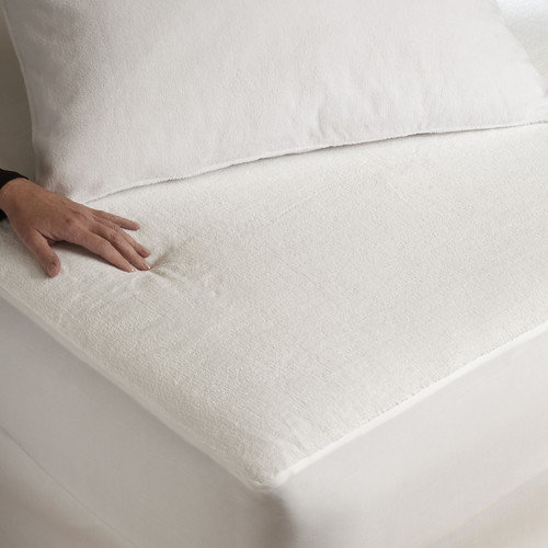 Southern Textiles Micro Plush  Mattress Protector with Mico-Velour Luxury