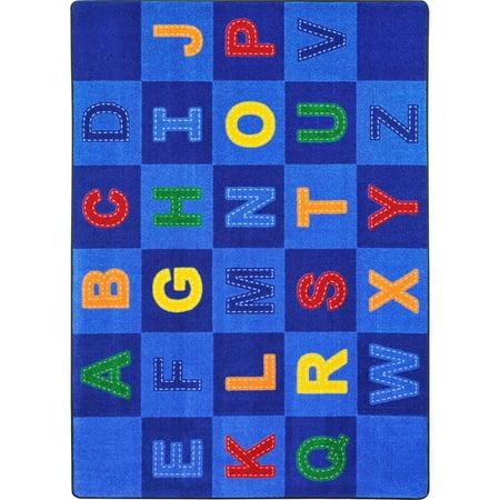 Joy Carpet Patchwork Letters Multi 5