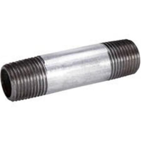 B & K Industries 564-540HN L&R Galvanized Nipple - .75 x 4 In. - image 1 de 1