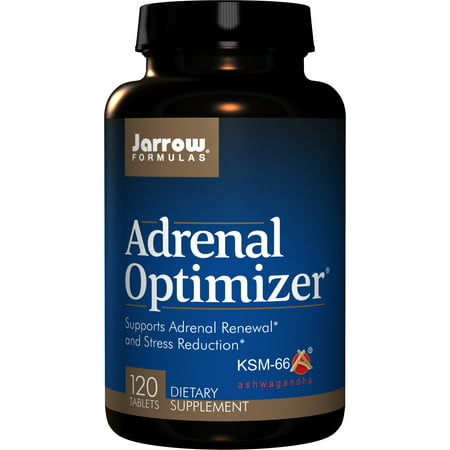 Jarrow Formulas Adrenal Optimizer, Supports Adrenal Renewal and Stress Reduction, 120 Tabs - Nutrients Eye Formula 90 Tabs