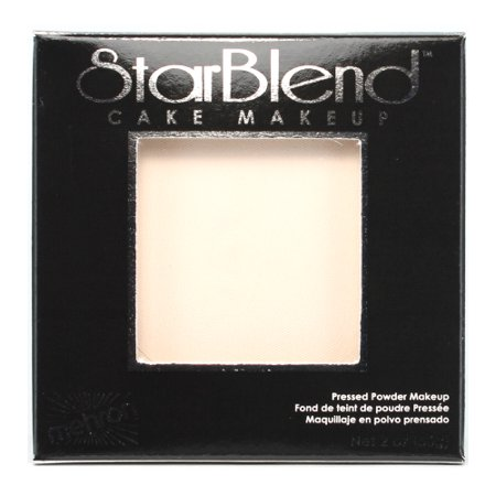 mehron StarBlend Cake Makeup  - Butterfly/Geisha - All White Halloween Makeup