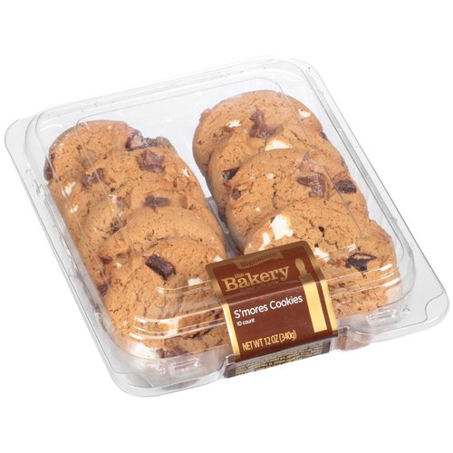 The Bakery at Walmart S'mores Cookies, 10 count, 12 oz