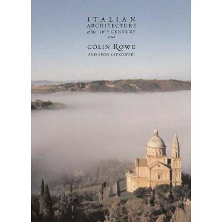 - Italian Architecture of the 16th Century
