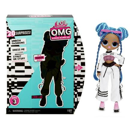 L.O.L. Surprise! O.M.G. Chillax Fashion Doll with 20 Surprises
