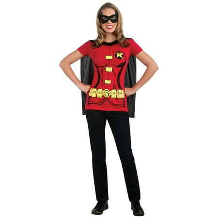 Robin (Female) T-Shirt Adult Costume Kit](Female Matador Costume)