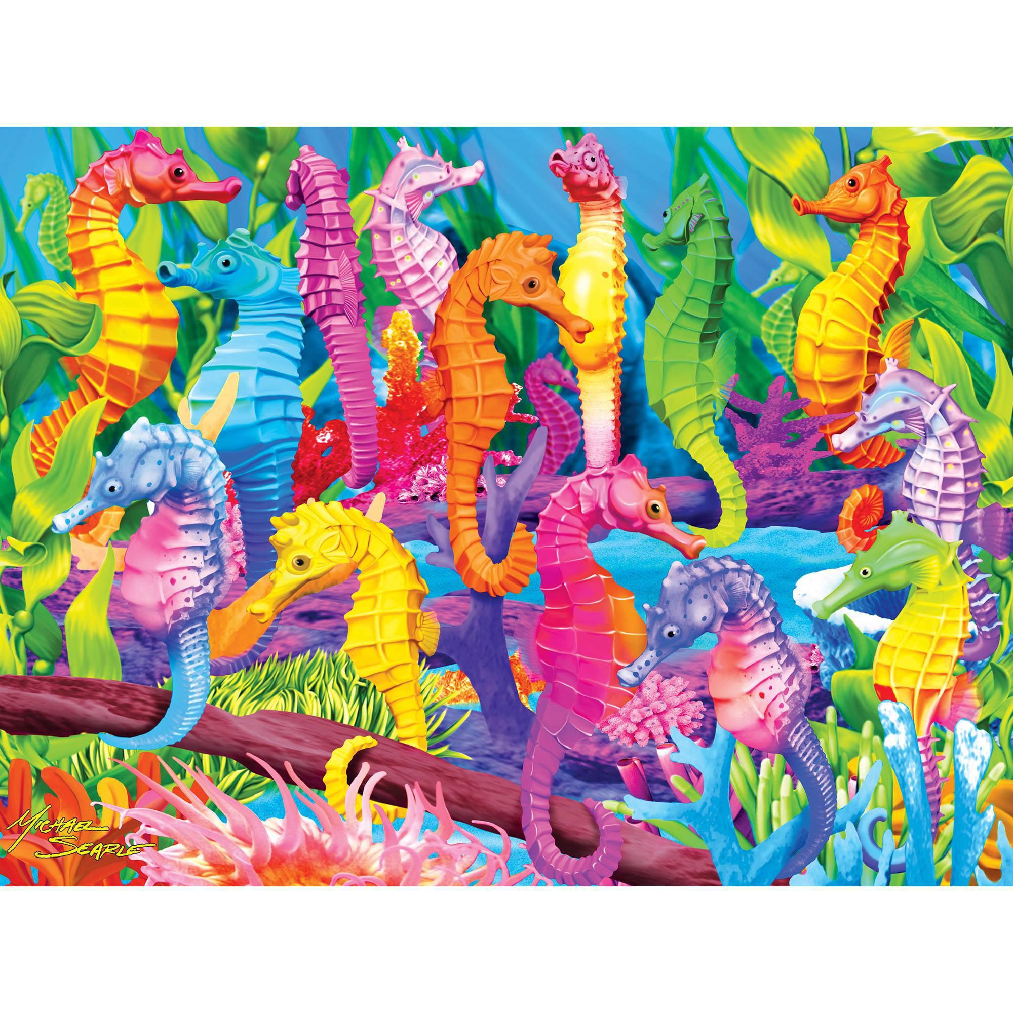 MasterPieces Singing Seahorses 300EZ Piece Puzzle by MasterPieces