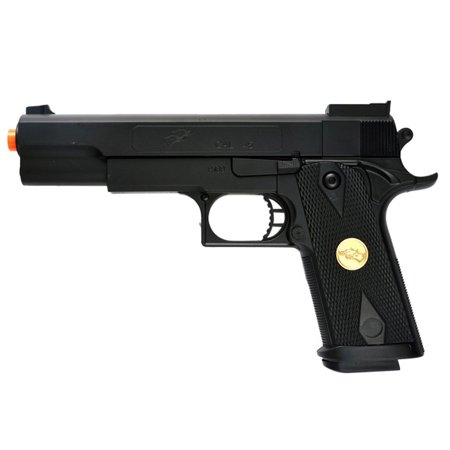 DOUBLE EAGLE P169 1911 AIRSOFT HAND GUN FULL SIZE SPRING PISTOL W 6MM BBS BB (Palco Firepower Airsoft)
