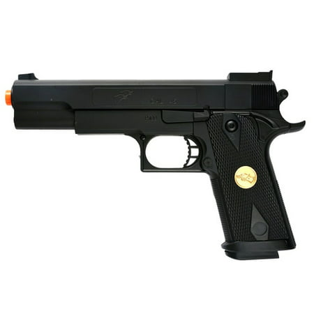 DOUBLE EAGLE P169 1911 AIRSOFT HAND GUN FULL SIZE SPRING PISTOL W 6MM BBS