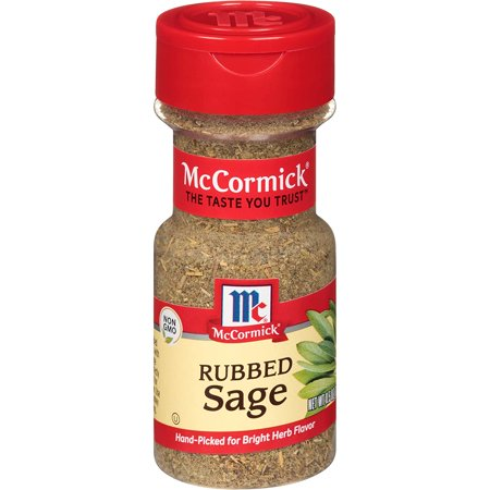 McCormick Rubbed Sage, 0.5 Ounce (Pack of 1)