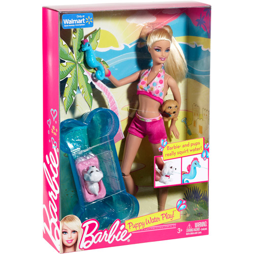 Barbie Puppy Water Park Doll