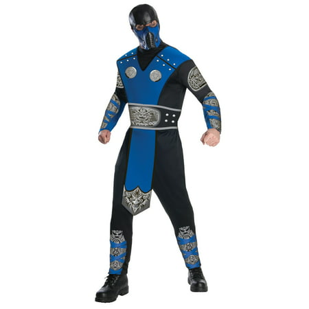 Mortal Kombat Sub-Zero Costume for Adults (Kids Mortal Kombat Scorpion Costume)