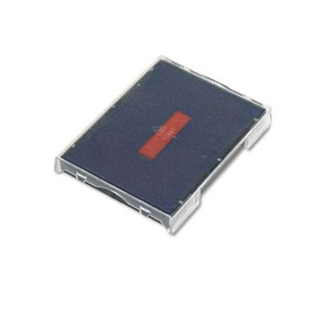 Trodat T4729 Dater Replacement Pad  1-9/16w x 2d  Red/Blue - image 1 of 1