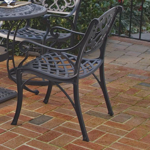 Home Styles Biscayne Outdoor Dining Arm Chairs, Set of 2, Multiple Finishes
