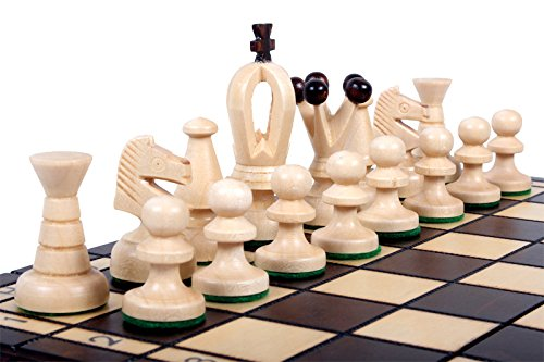 The Kasbah Unique Wood Chess Set w  Board & Storage by ChessCentral